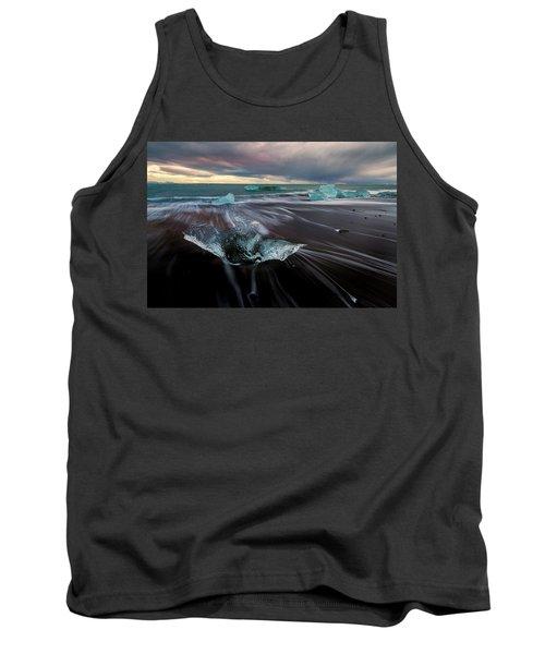 Tank Top featuring the photograph Beach Stranded by Allen Biedrzycki