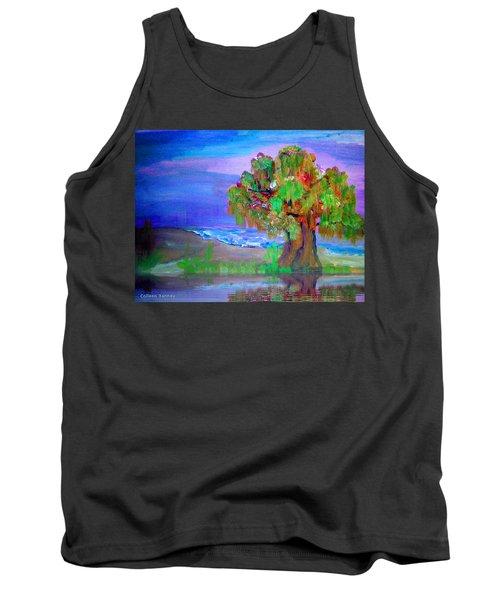 Beach Tree Tank Top