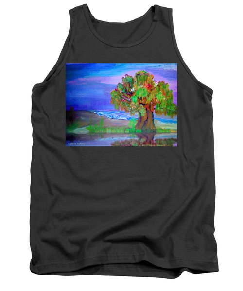 Beach Tree Tank Top