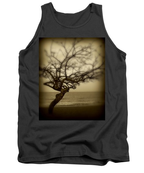 Beach Tree Tank Top by Perry Webster