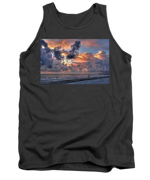 Beach Walk - Florida Seascape Tank Top