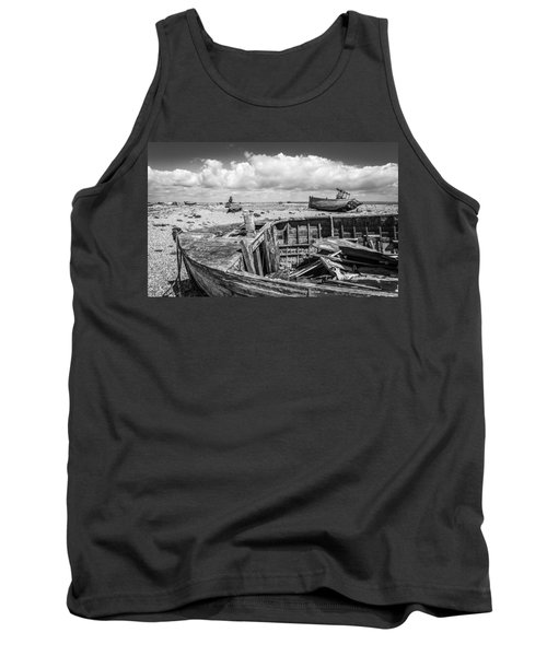 Beached Boats. Tank Top