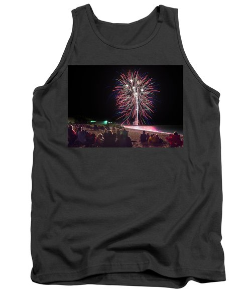 Tank Top featuring the photograph Beachside Spectacular by Bill Pevlor