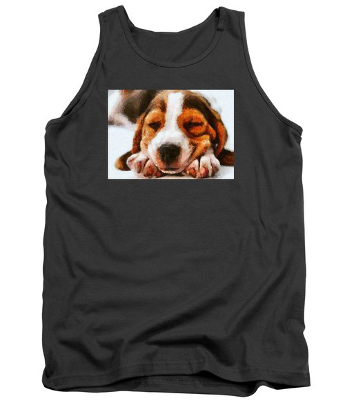 Beagle Puppy Tank Top