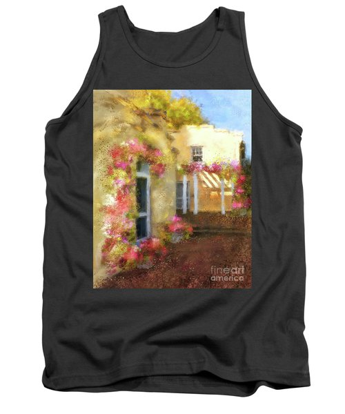 Tank Top featuring the digital art Beallair In Bloom by Lois Bryan