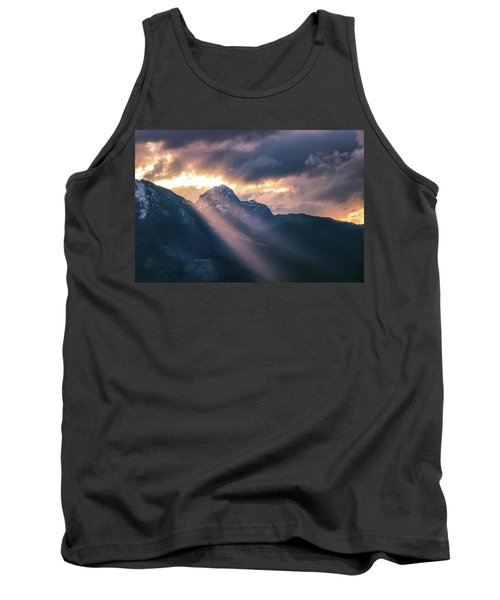 Beams Of Fire Tank Top