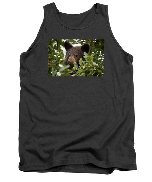 Bear Cub In Apple Tree6 Tank Top
