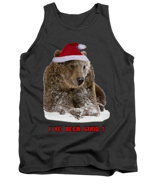 Bear Ive Been Good  Tank Top