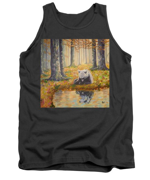 Bear Reflecting Tank Top