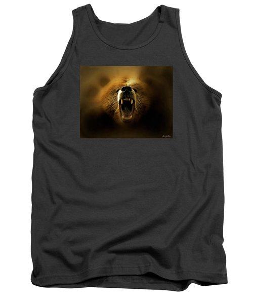 Bear Roar Tank Top by Lilia D
