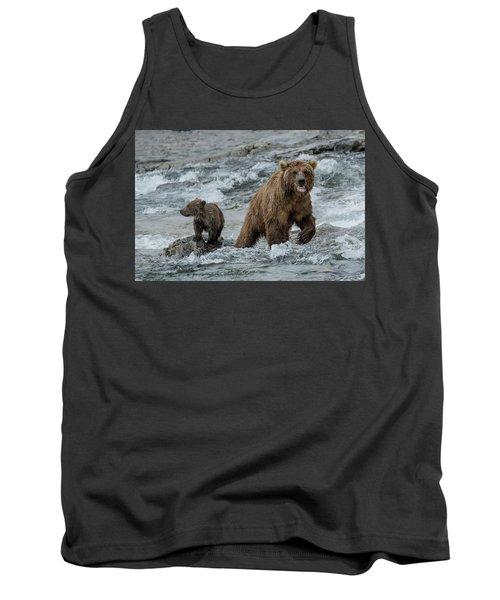 Bears Being Watchful  Tank Top