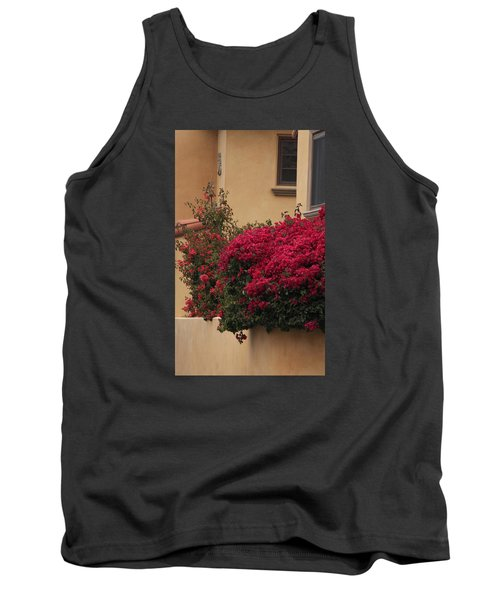 Beautiful Balcony With Bougainvillea Tank Top by Ivete Basso Photography