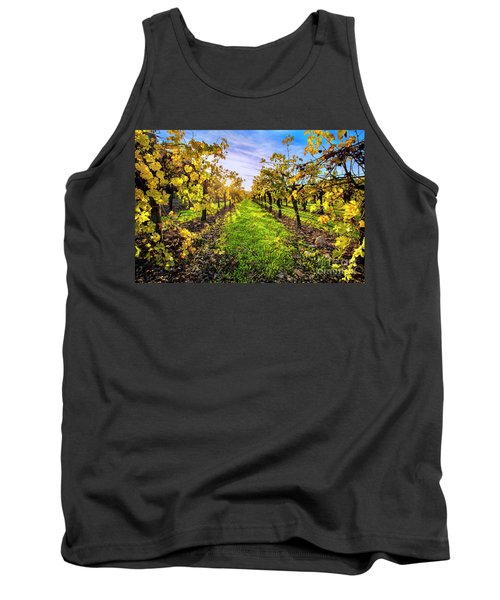 Beautiful Colors On The Vines Tank Top