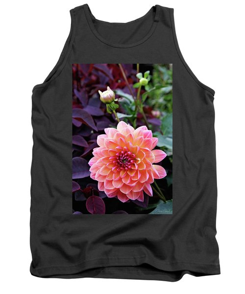 Beautiful Dahlia Tank Top