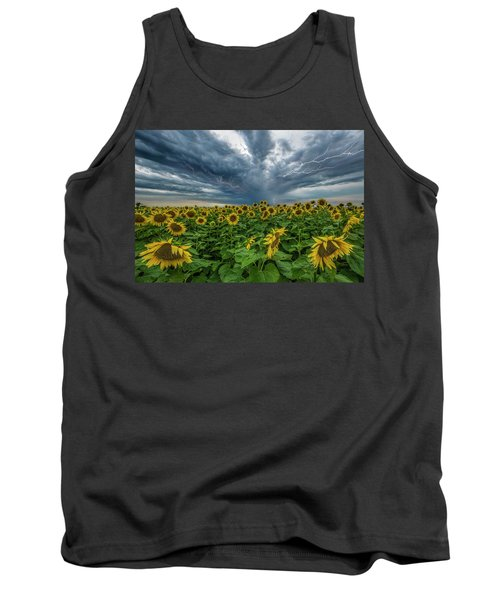 Tank Top featuring the photograph Beautiful Disaster  by Aaron J Groen