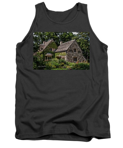 Tank Top featuring the photograph Beautiful Home by Joann Copeland-Paul