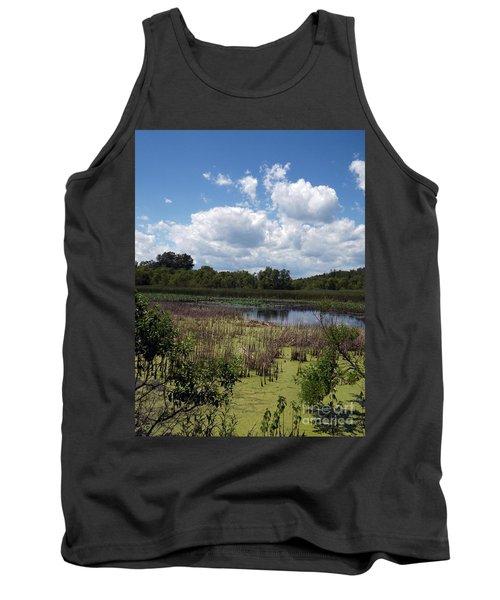 Beautiful Marsh View Tank Top