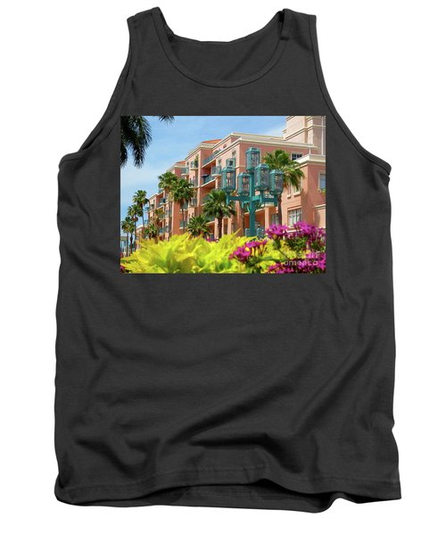 Beautiful Mizner Park In Boca Raton, Florida. #9 Tank Top