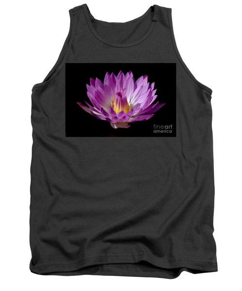 Beautiful Pink Pearl Lily Tank Top