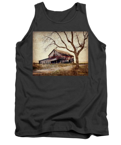 Beautiful Red Barn-near Ogden Tank Top by Kathy M Krause