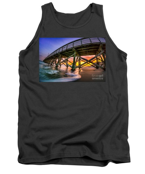 Beautiful Sunset In Myrtle Beach Tank Top by David Smith