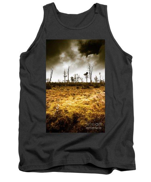 Beauty And Barren Bushland Tank Top