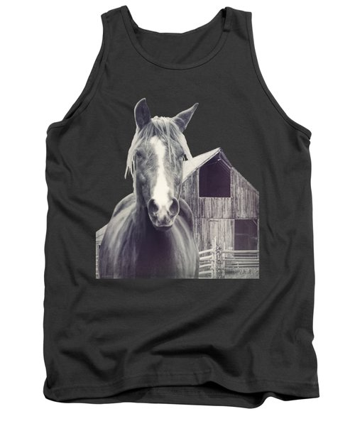 Beauty And The Barn Tank Top