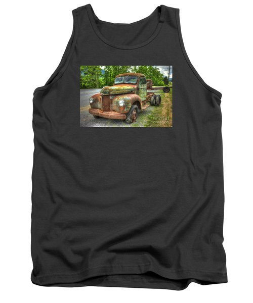 Beauty And The Best 1947 International Harvester Kb 5 Truck Tank Top