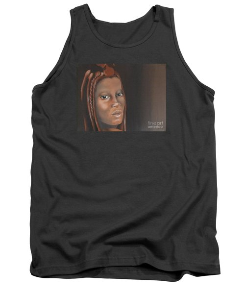 Tank Top featuring the painting Beauty by Annemeet Hasidi- van der Leij