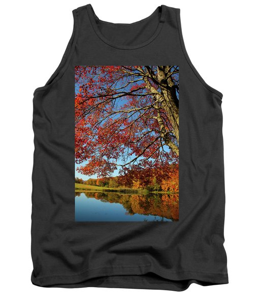 Tank Top featuring the photograph Beauty Of Fall by Karol Livote