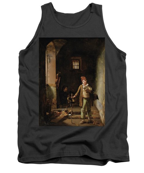 Bedroom Or The Little Groundhog Shower Tank Top by MotionAge Designs