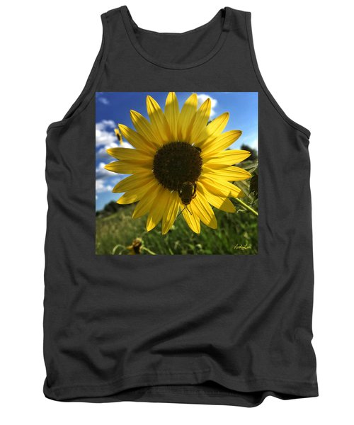 Bee And Sunflower Tank Top
