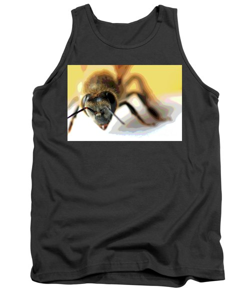 Bee In Macro 5 Tank Top