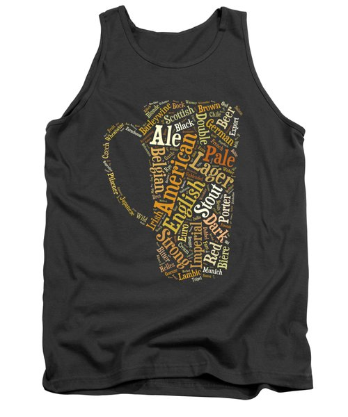 Beer Lovers Tee Tank Top
