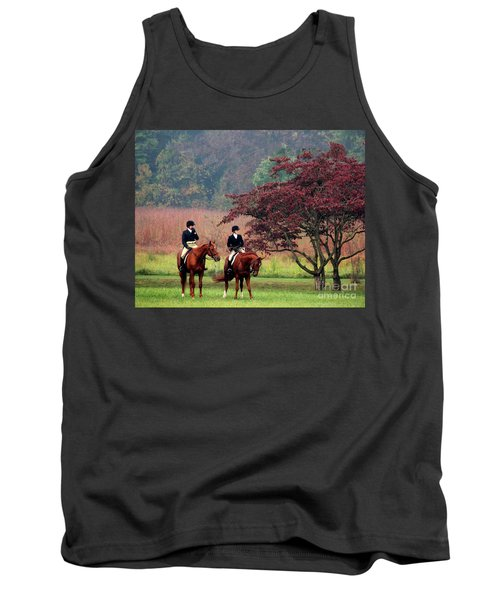 Tank Top featuring the photograph Before The Hunt by Polly Peacock