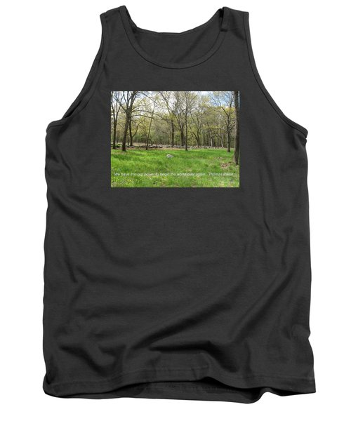 Begin The World Over Again Tank Top
