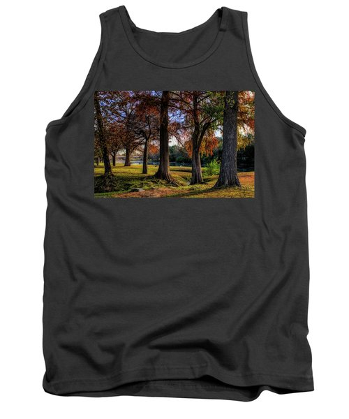 Beginning Of Fall In Texas Tank Top