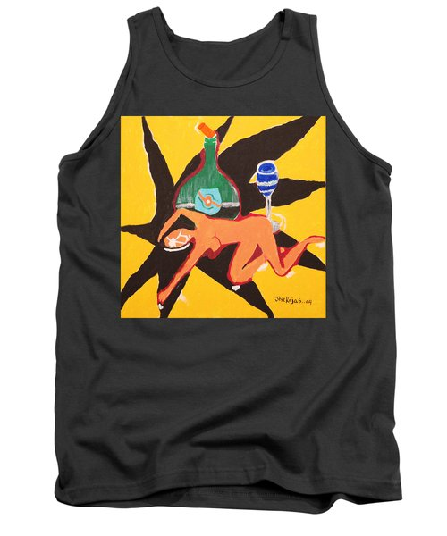 Behind The Curtain Tank Top by Jose Rojas