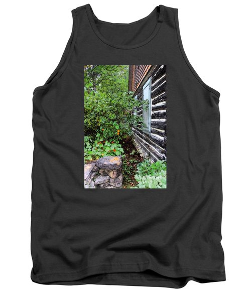 Behind The Dorm At The Clearing Tank Top by David Blank