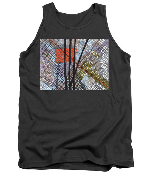 Behind The Fence Tank Top by Sandra Church
