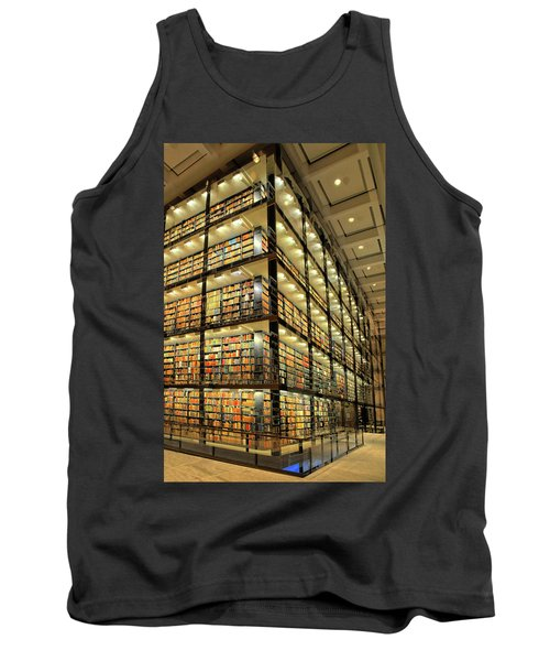 Beinecke Library At Yale University Tank Top