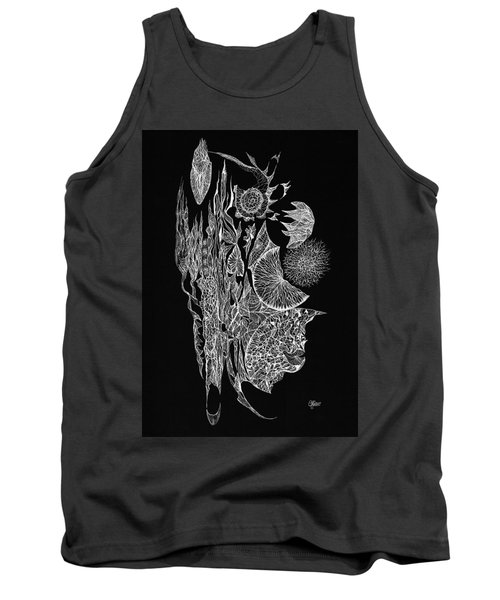 Bejewelled Original Tank Top by Charles Cater