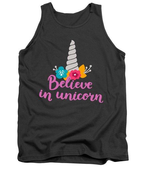 Believe In Unicorn Tank Top