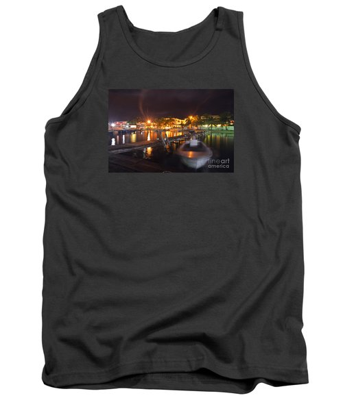 Tank Top featuring the photograph Belizean Night  by Yuri Santin