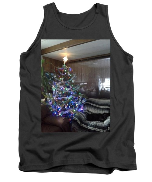 Tank Top featuring the photograph Bella Christmas 2013 by Jewel Hengen