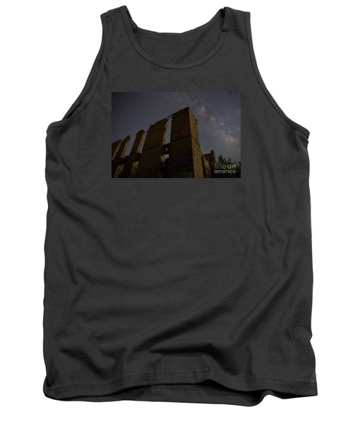 Tank Top featuring the photograph Belle Plain College - Texas by Keith Kapple