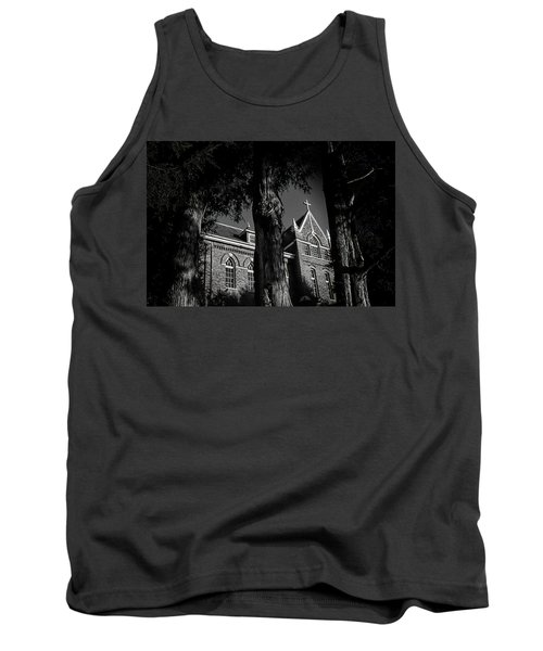Tank Top featuring the photograph Belmont Abbey by Jessica Brawley