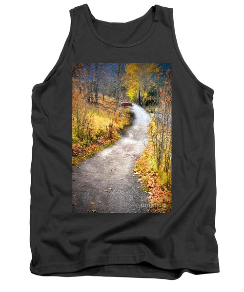 Bench On A Hill Tank Top