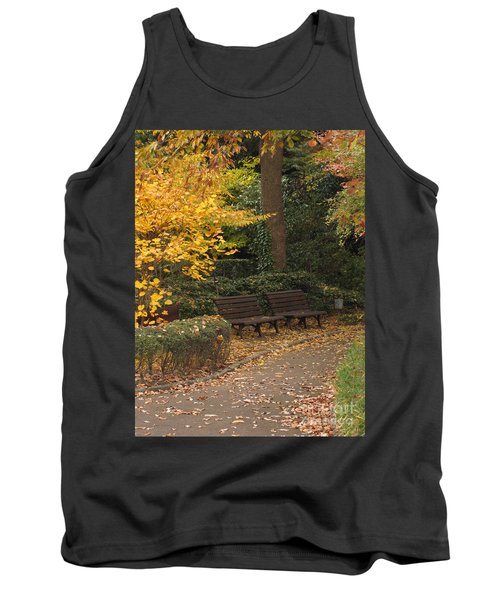 Benches In The Park Tank Top