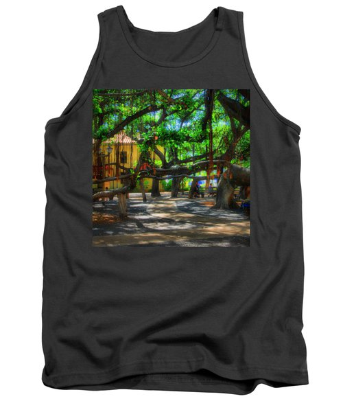 Beneath The Banyan Tree Tank Top
